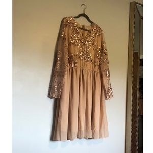 Clothing Obsessed Company Long Sleeve Dress
